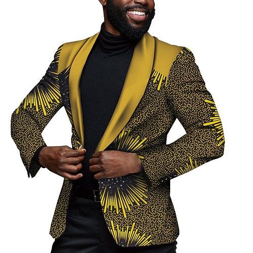 veste pour hommes à manches longues   afro dashikiDR
