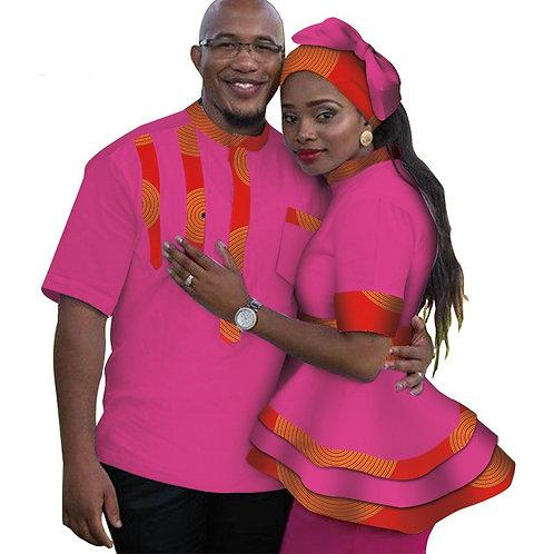 vêtements pour les couples Femmes top et t-shirt pour homme COLOR