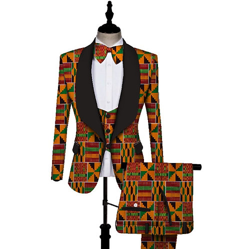 ensemble costume homme de mariage wax ref afrochic