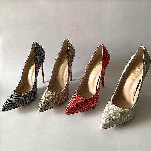 femmes haut talon imprimé exquis modèle élégant unique chaussures 12cm