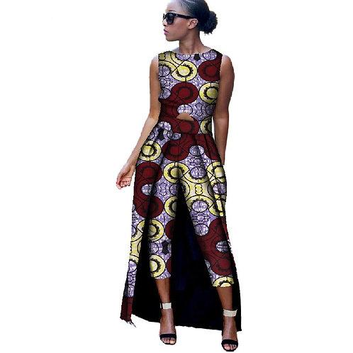 Nouvelle Mode femme salopet Barboteuse  Bazin Riche ref01