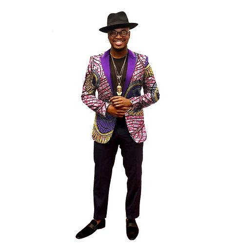 Hommes Blazer Costume Homme Afrique Bazin Riche