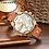 Thumbnail: Montre à Quartz analogique pour hommes, bracelet en cuir, à la mode, décontracté