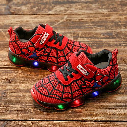 Chaussures pour garçons  spider man Lumineux
