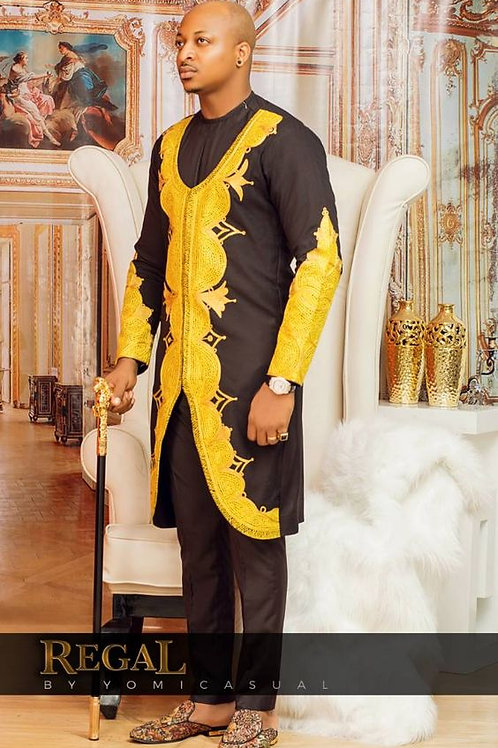 homme de mariage chemise dashiki brodé richic model ref01