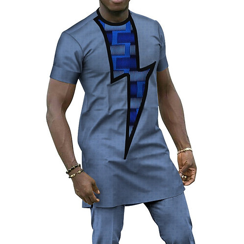Hommes 2 Pièces Pantalon Définit Africain Conception Africain imp