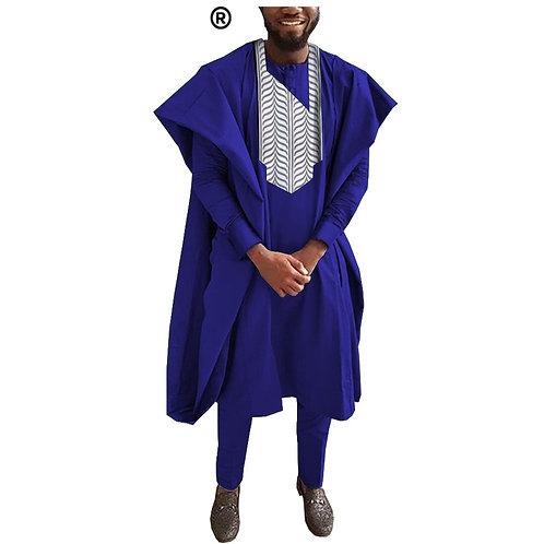 mariage costume Agbada Robe Dashiki chemises Ankara pantalon 22