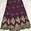 Thumbnail: Salouva tissu brodé voilé suisse et châle a voile haute qualité