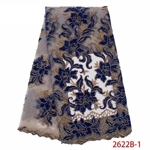 haute qualité velours dentelle tissu belles pierres dentelle pour mariage ref00H