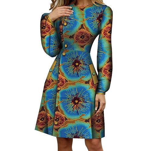 femme ankara manteau chemise  pur coton wax privé personnalisé cire batik