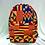 Thumbnail: Sac à dos africain Ankara imprimé en cire de bonne qualité