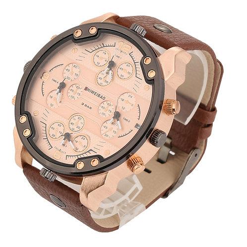 Shiweibao-montre à Quartz pour hommes, marque supérieure de luxe