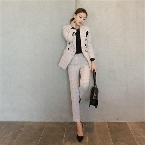 ensemble femme costume veste et pantalon GH1