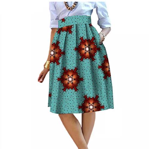 jupe pour femmes privé personnalisé haute qualité batik coton