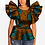 Thumbnail: femme haut coton printemps et automne ankara imprimer dashiki