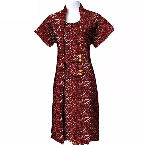 2 pièces costume pour femmes manches courtes mollet-longueur manteau