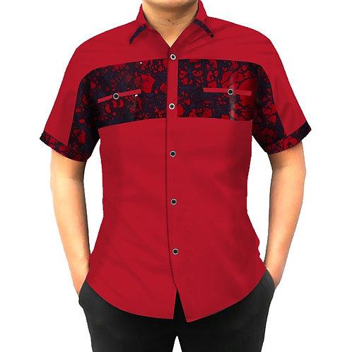 chemise hommes à manches courtes Dashiki chemises hommes Slim Fit africaGTY