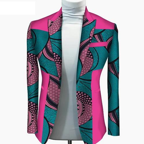 femme veste  manteau avec poche 100% coton vêtements africains WY