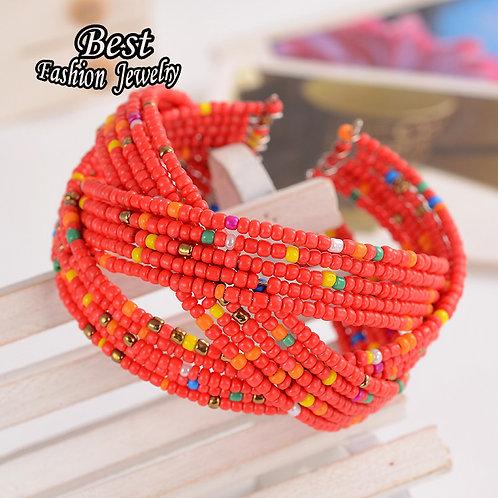 femme bracelet Charme Bohème Perle