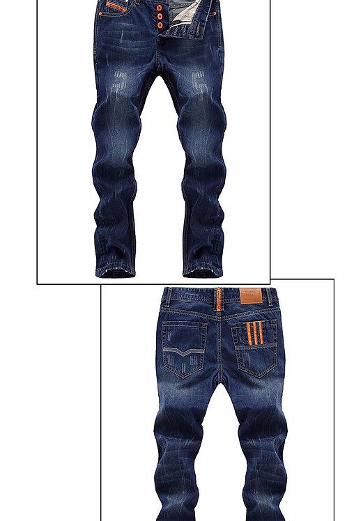 homme jeans Haute Qualité Straight Fit Classique ref02.18