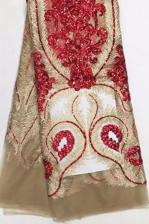 paillettes dentelle tissu dernière conception brodé maille Tulle