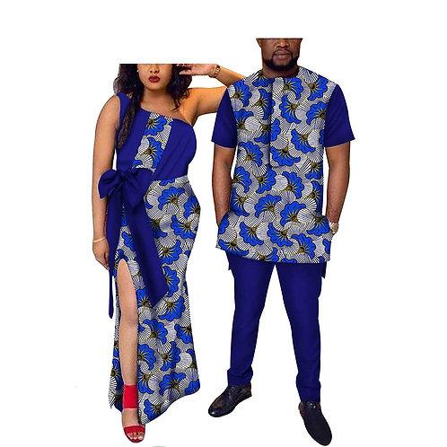 couple hommes ensemble & femmes robe manches courtes