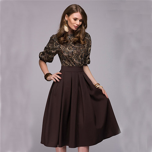 Femme robe Casual Élégant ref L01