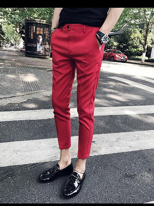 Cheville Pantalon Homme Calca slim