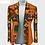 Thumbnail: femme veste  manteau avec poche 100% coton vêtements africains WY