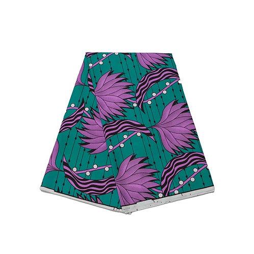 Tissu africain de haute qualité | Imprimés ankara,Batik, véritable cire ref010