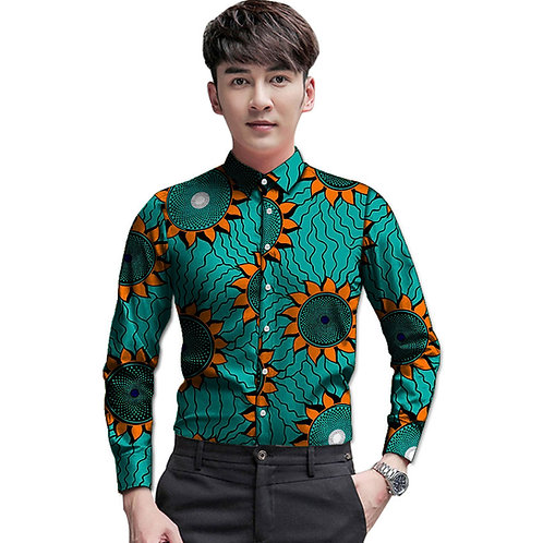 homme chemise africa model manche long 2