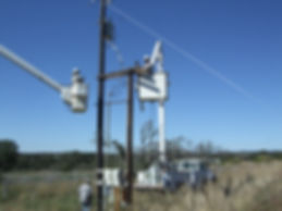 Utility Service performed by James Power LIne Construction