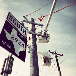 Utility Pole Service by James Power Line Construction