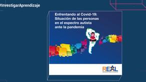 #InvestigarAprendizaje   Impacto del Covid-19 en personas con TEA y sus familias