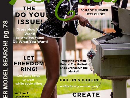 My July Issue of Ms. Heel Magazine