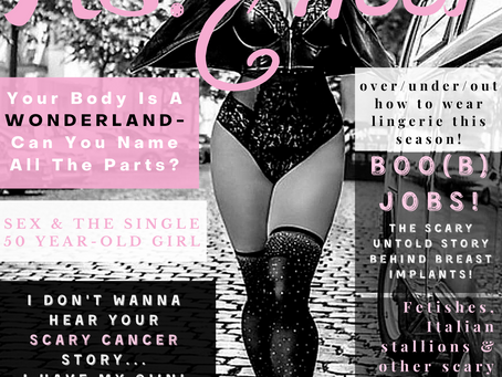 October Issue Of Ms. Heel Magazine