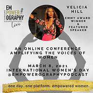 Empowerography Live Conference Speaker I