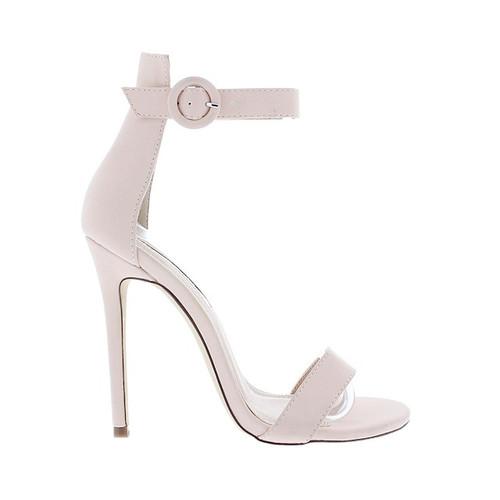 Liliana Tisha14 Open Peep Toe Stiletto High Heel Ankle Strap Pump Sandal Shoe  H58D63A5H