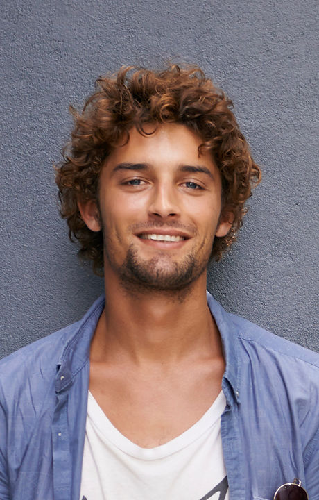 Man with Curls