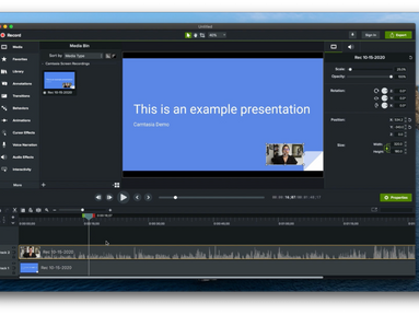 Introduction to Camtasia