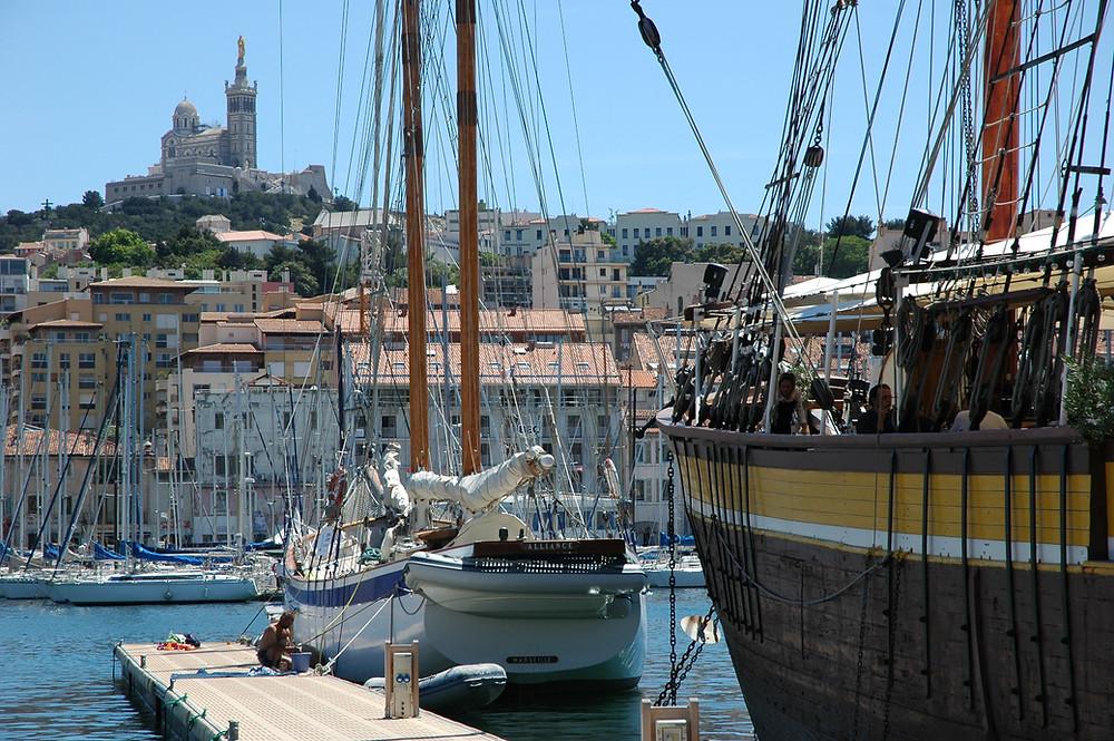 Old Port in Marseille
