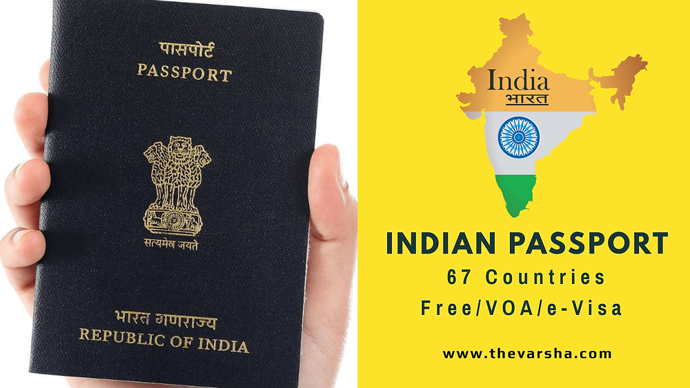 67 Countries offering VOA, FREE VISA or E-Visa