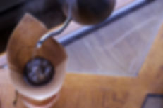 Meta Coffee Lab small batch coffee roaster in Lincoln, Nebraska Hario Kettle & Chemex