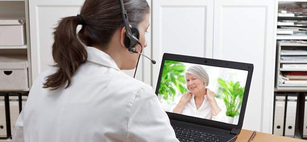 Telehealth Virtual Online appointment