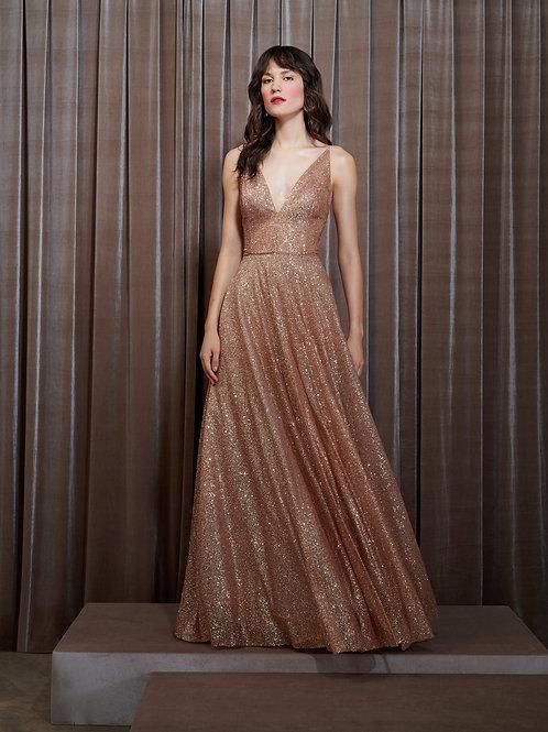 Vestido M.Rodarte Tule Glitter