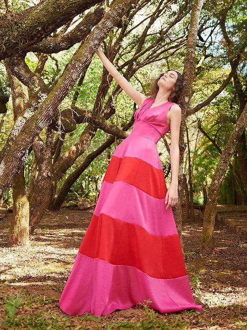 Vestido M.Rodarte Bicolor