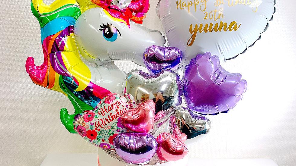 《unicorn balloon》