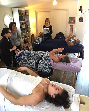 Healers become trained in energy healing.