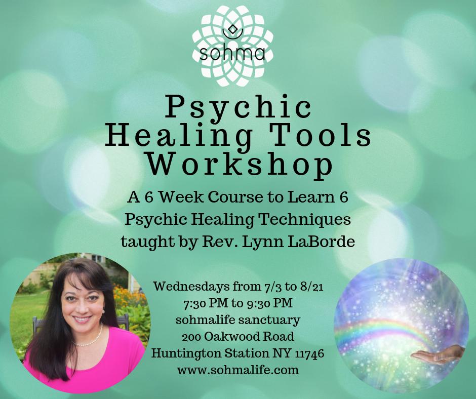Psychic Healing Tools Workshop