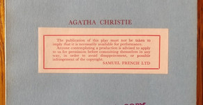COLLECTING PLAYS:  The 11 Original Agatha Christie Stage Plays